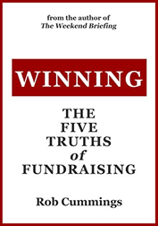 books for nonprofit leaders: winning: the five truths of fundraising, by rob cummings
